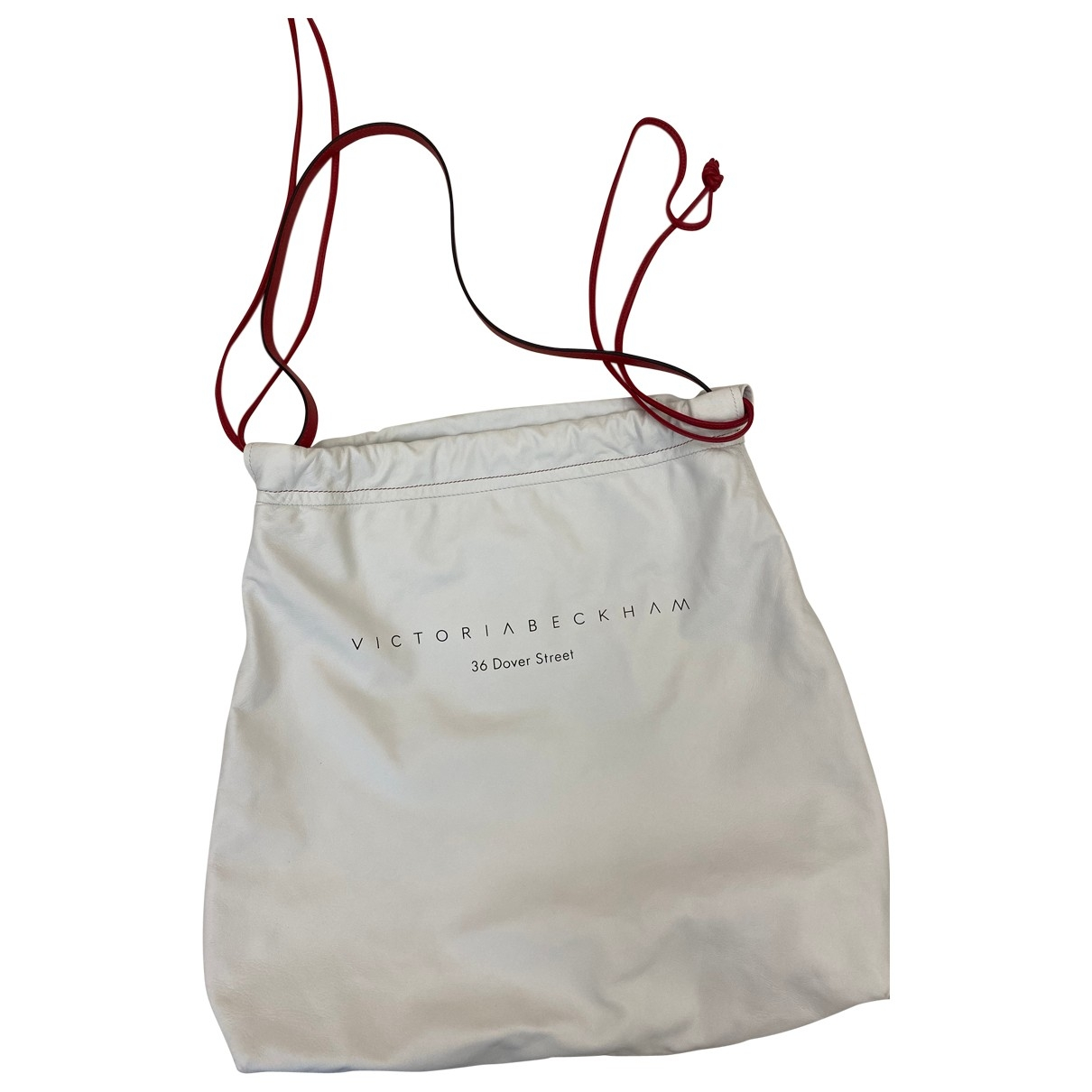 Victoria Beckham \N White Leather handbag for Women \N