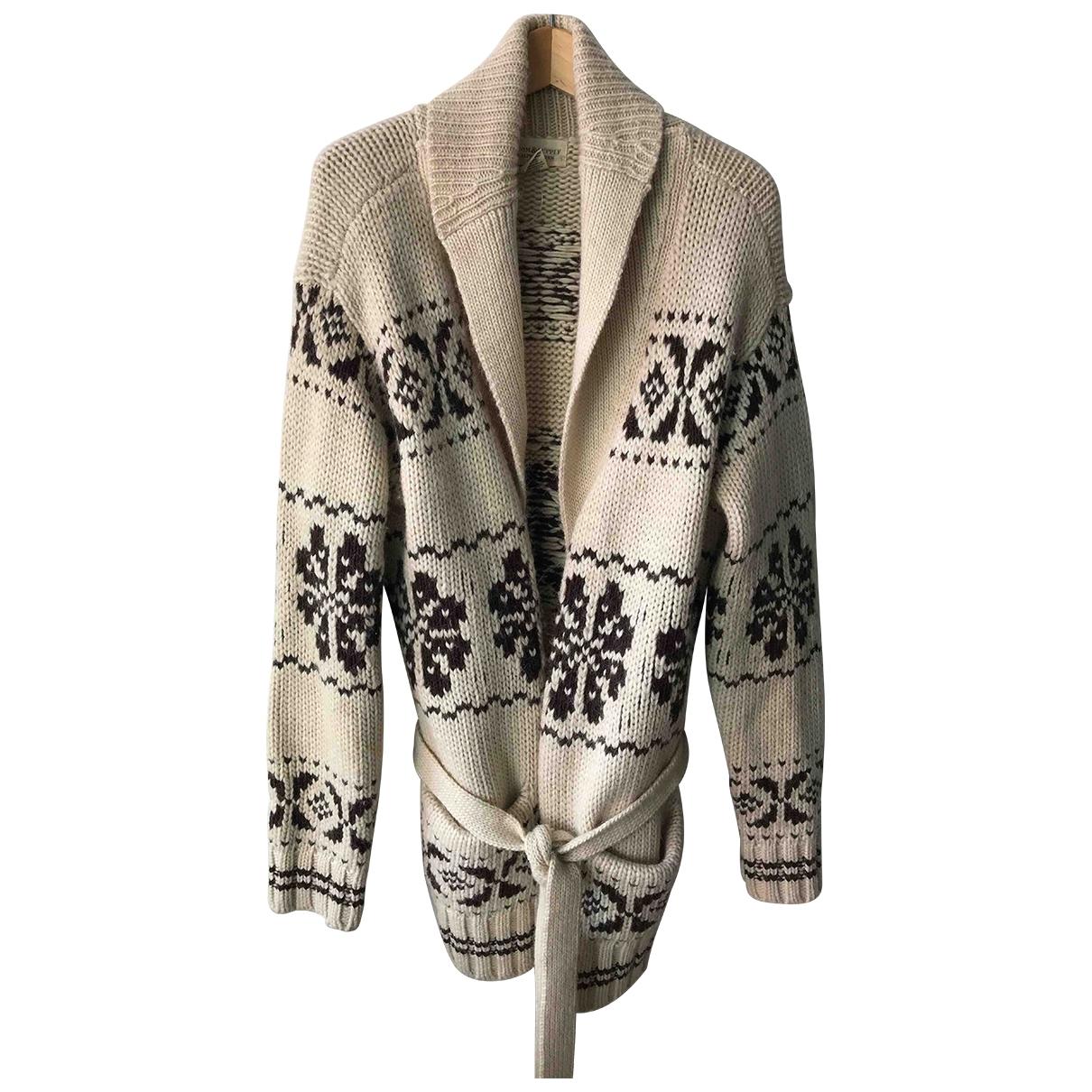 Ralph Lauren Denim & Supply - Pull   pour femme en laine - beige