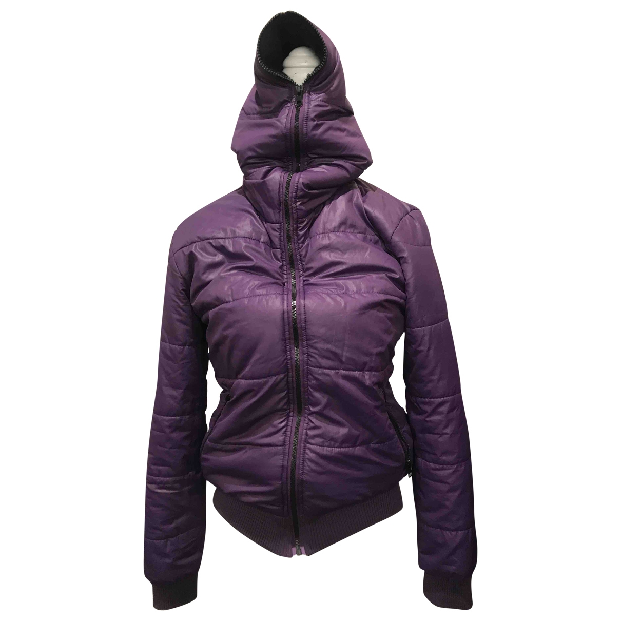 Moschino Love \N Jacke in  Lila Polyester