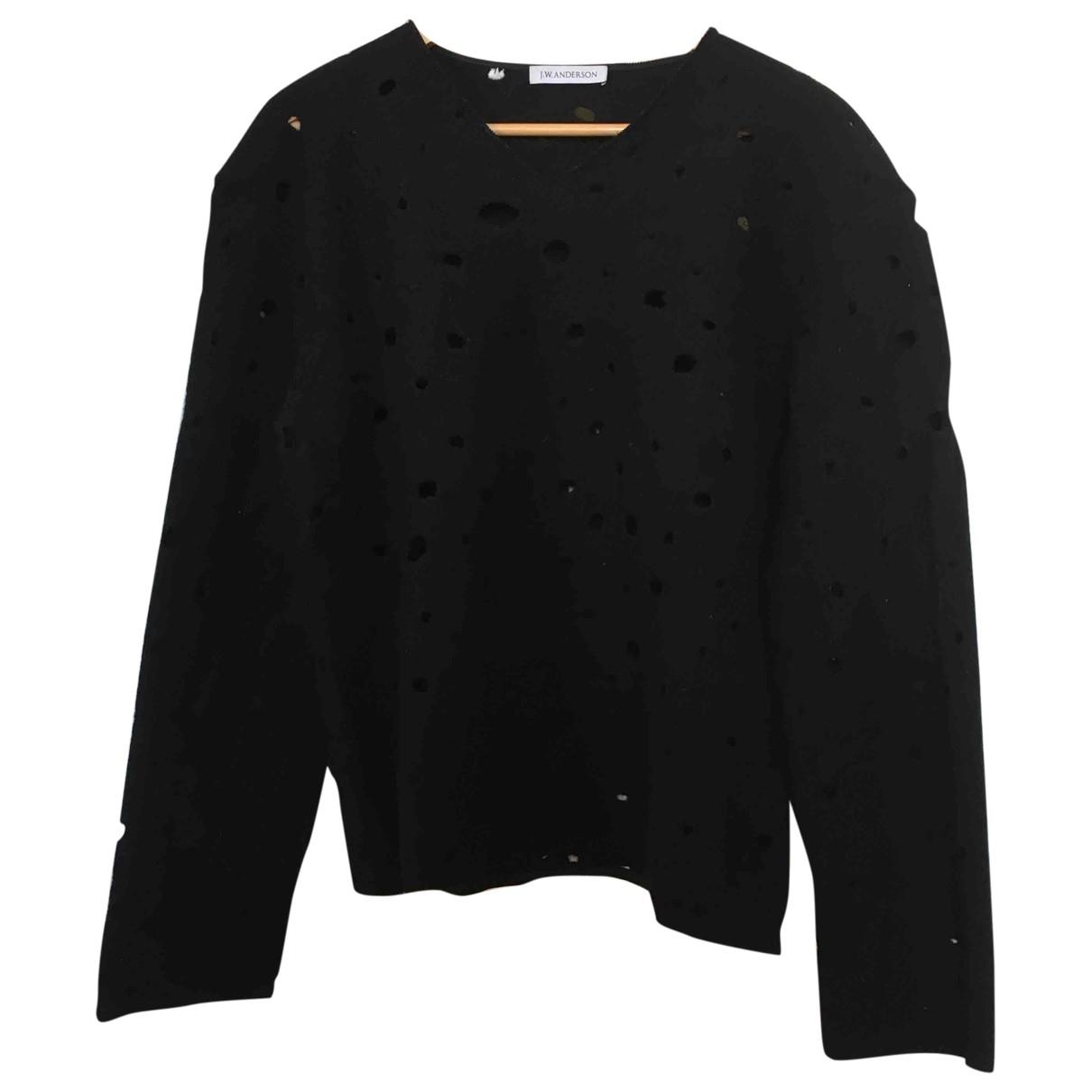 J.w. Anderson \N Black Wool Knitwear & Sweatshirts for Men XL International