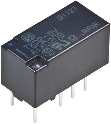 Panasonic DPDT PCB Mount Latching Relay - 2 A, 12V dc For Use In Automotive Applications