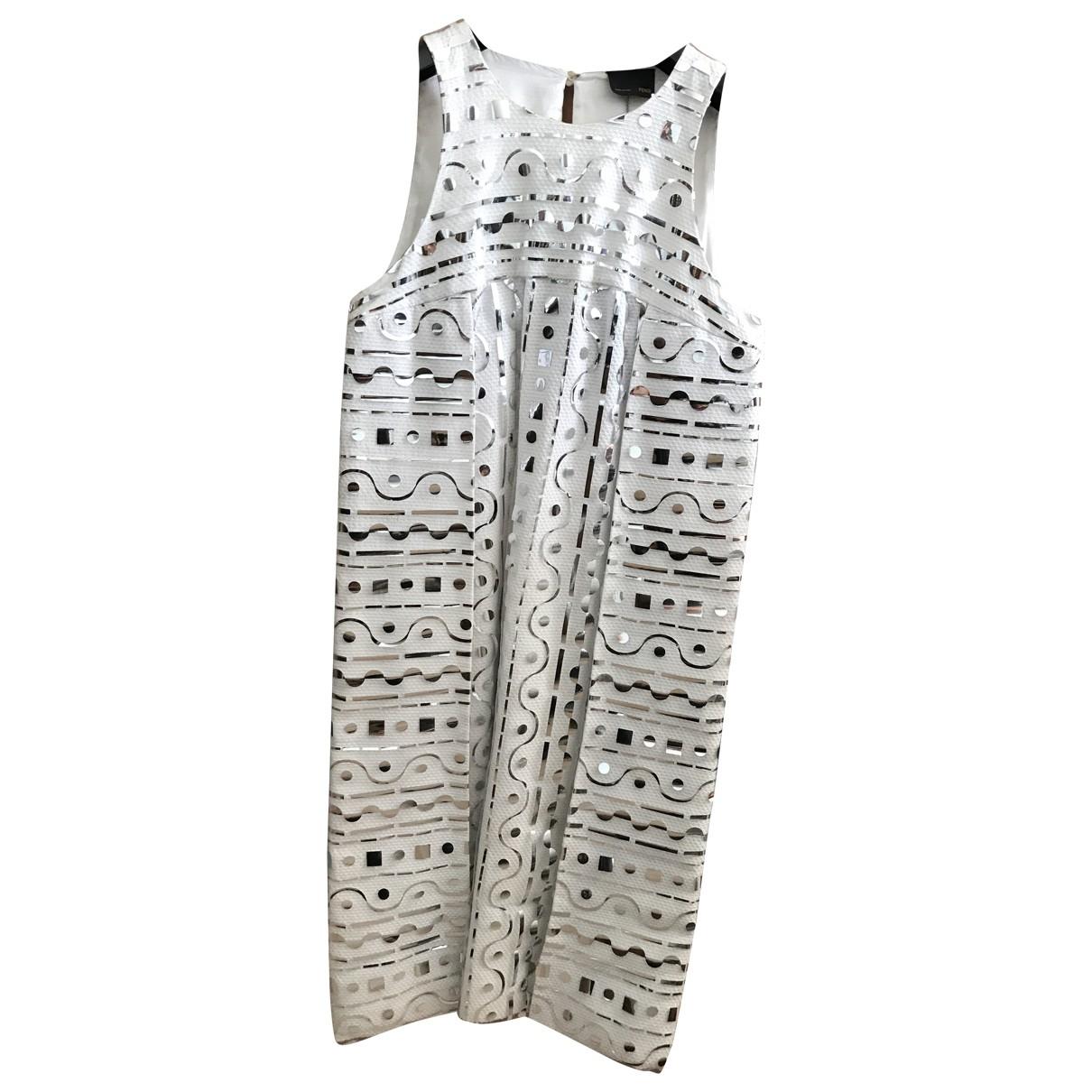 Fendi \N White dress for Women 38 IT
