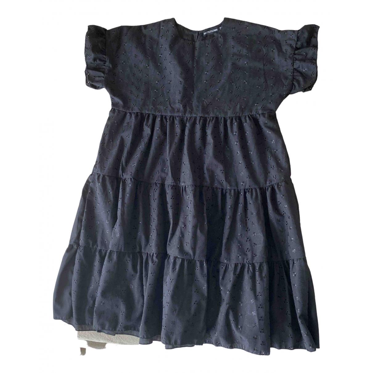 Zara \N Black Cotton dress for Women 10 UK