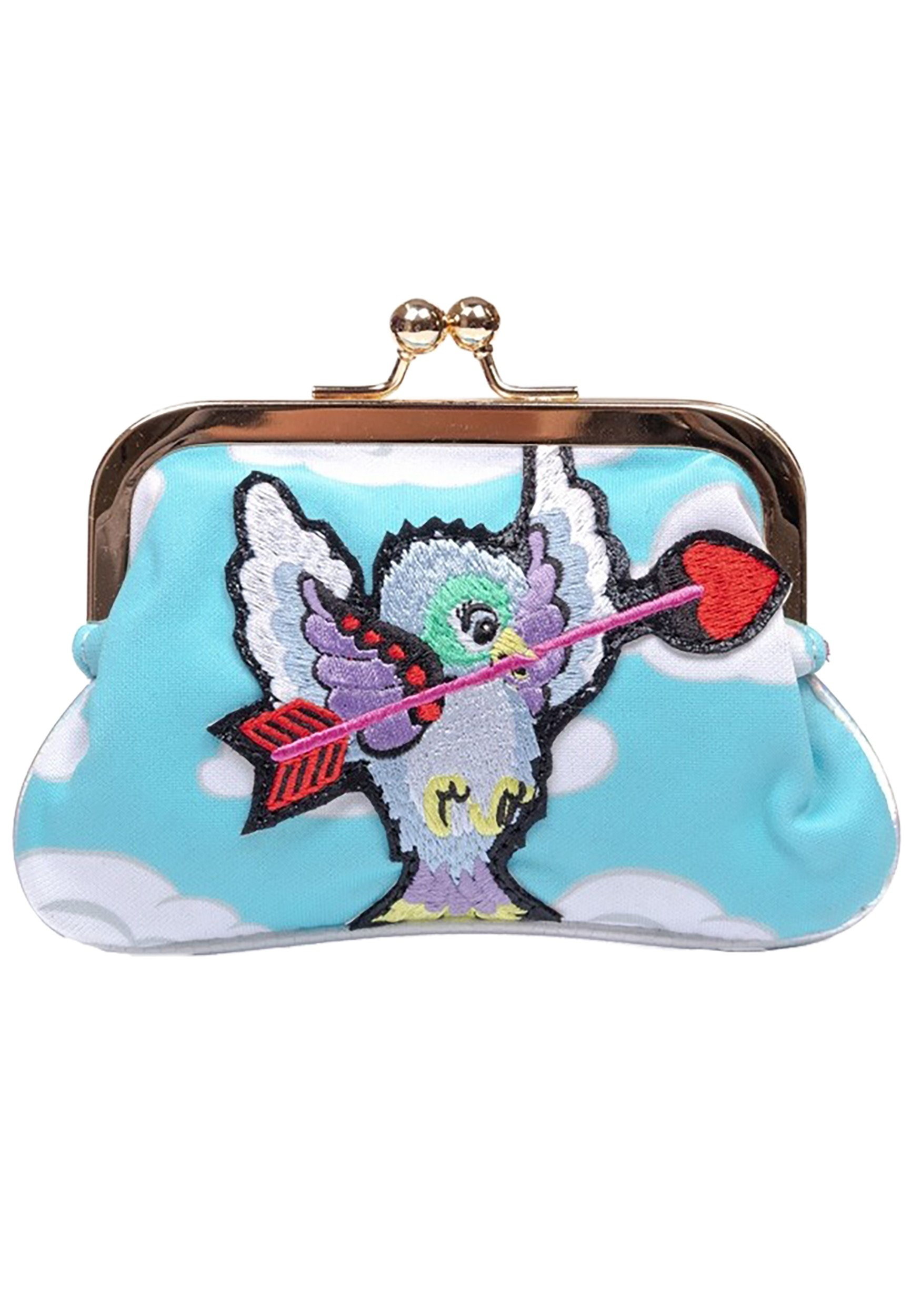 Irregular Choice Cupid Bird Coin Bag Purse