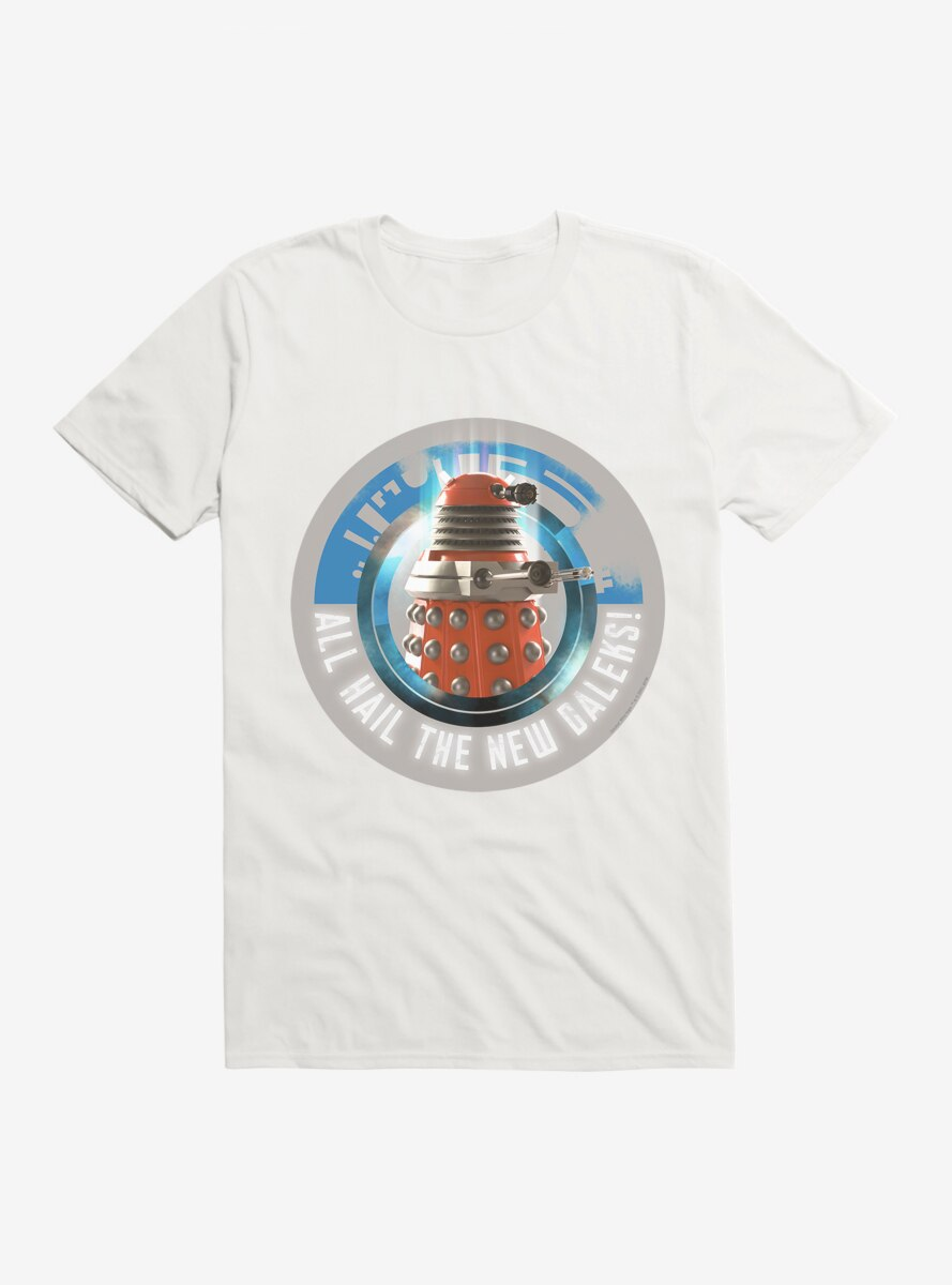 Doctor Who Hail New Supreme T-Shirt