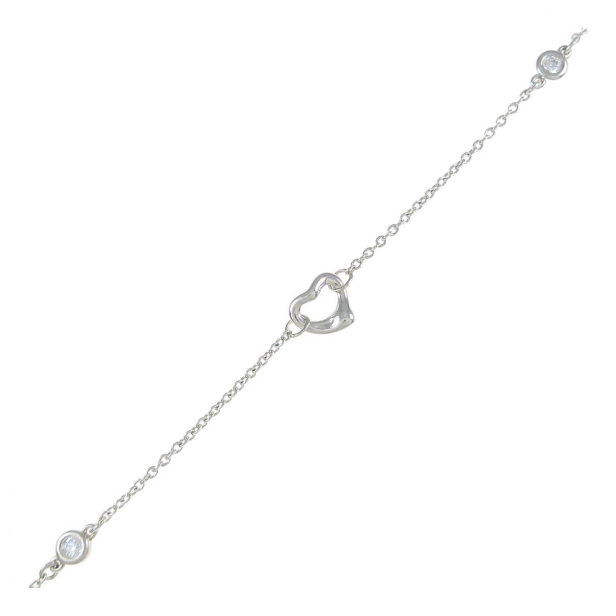 Tiffany & Co - Bracelet Elsa Peretti  pour femme en argent