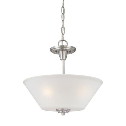 190043217 Pittman 2-Light Pendant in Brushed