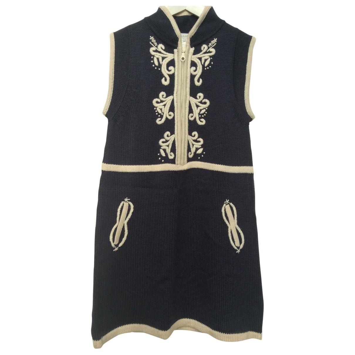 Paul & Joe Sister \N Navy Wool dress for Women 38 FR