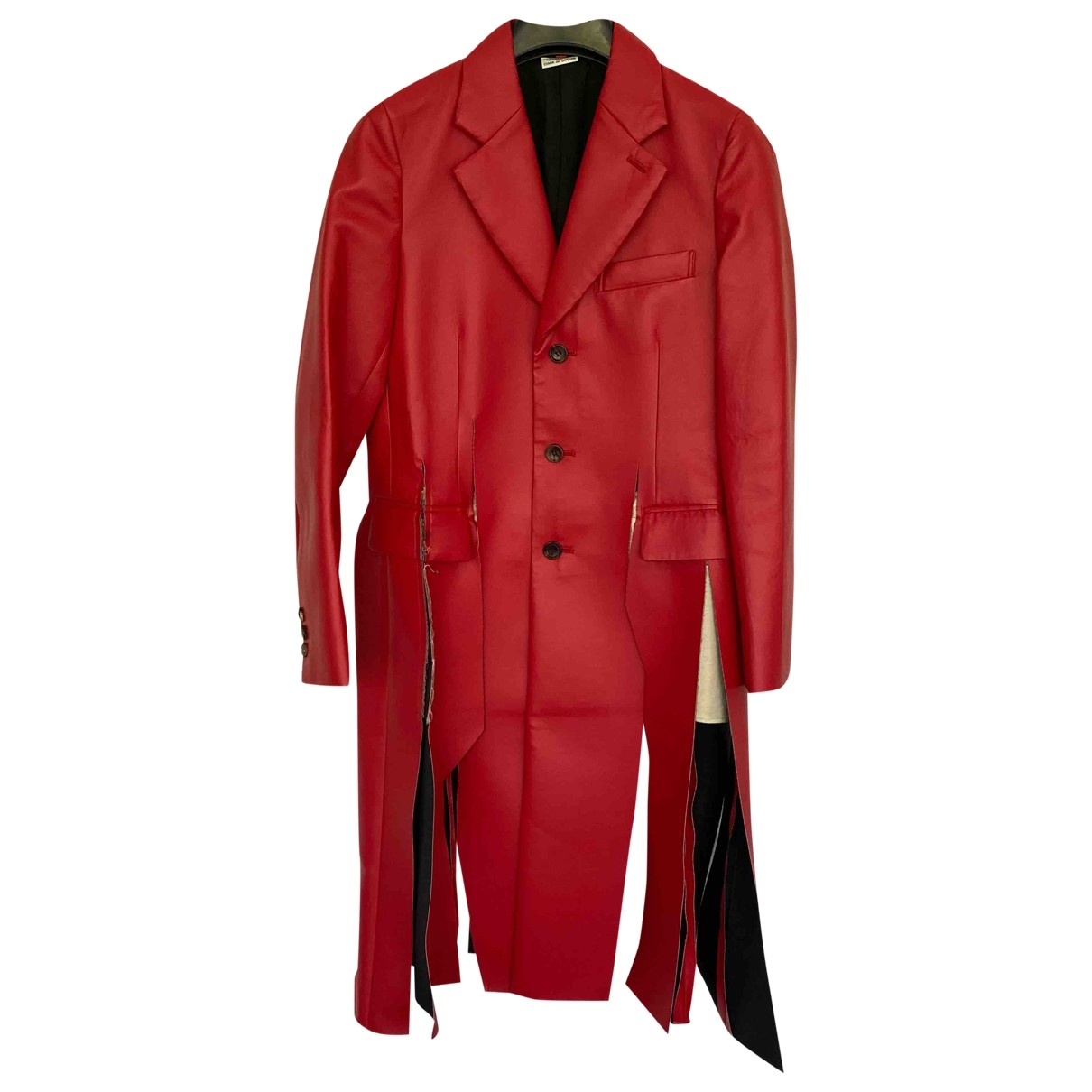 Comme Des Garcons \N Maentel in  Rot Synthetik