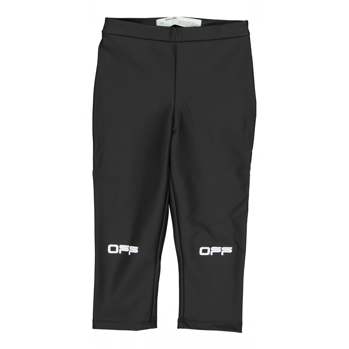 Off-white N Anthracite Trousers for Women 42 IT