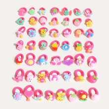 5 Stuecke Baby Haarband mit Karikatur Dekor