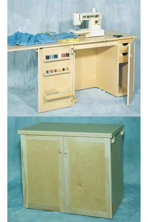 Woodworking Project Paper Plan to Build Sawing Cabinet, No. 887