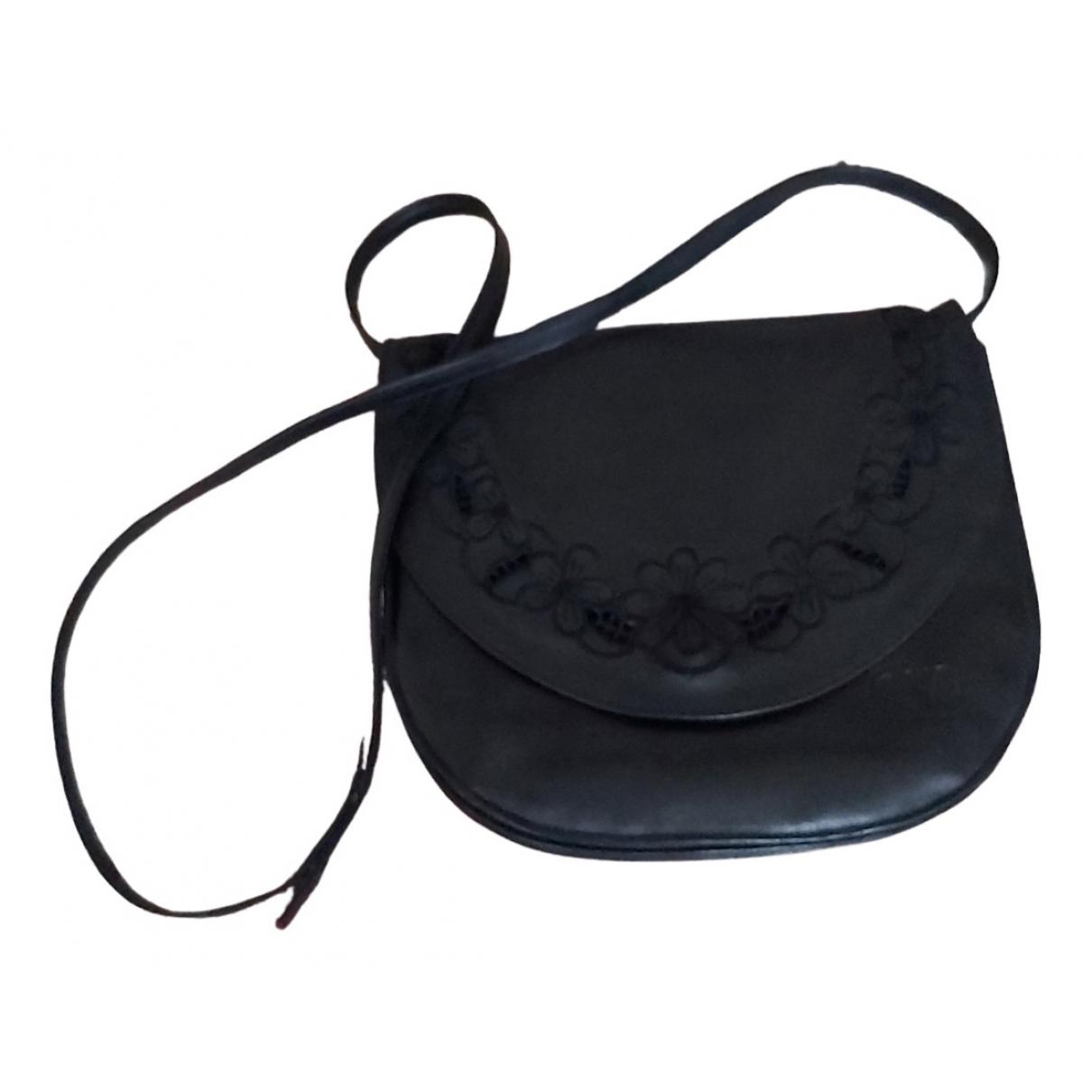 Valentino Garavani N Black Leather handbag for Women N