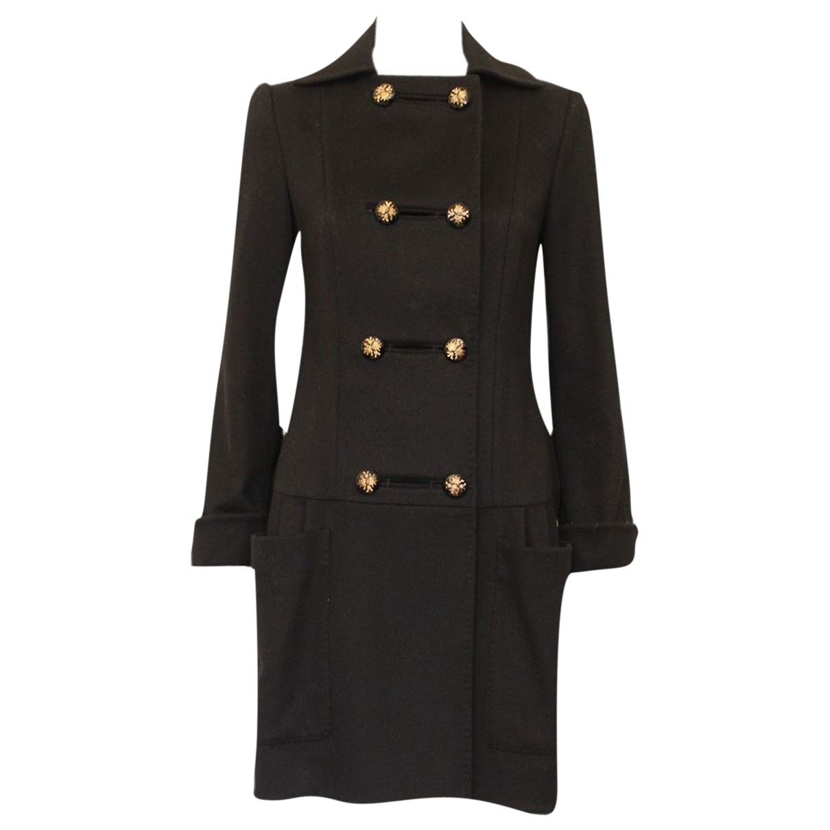 Stella Mccartney \N Black Wool coat for Women 40 IT