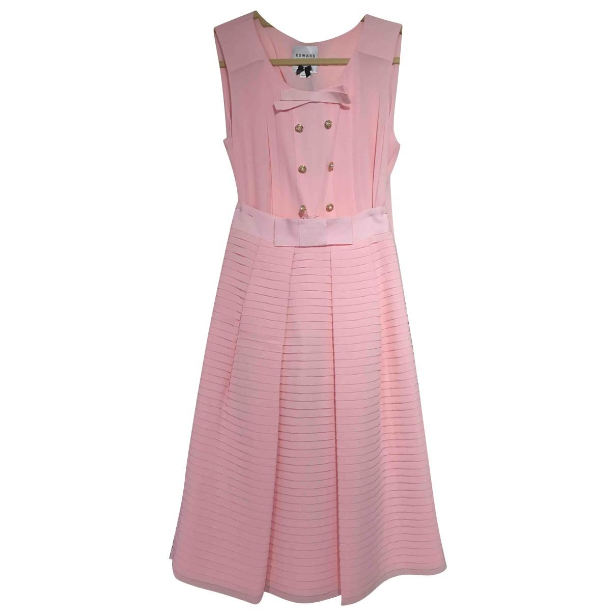 Edward Achour - Robe   pour femme - rose