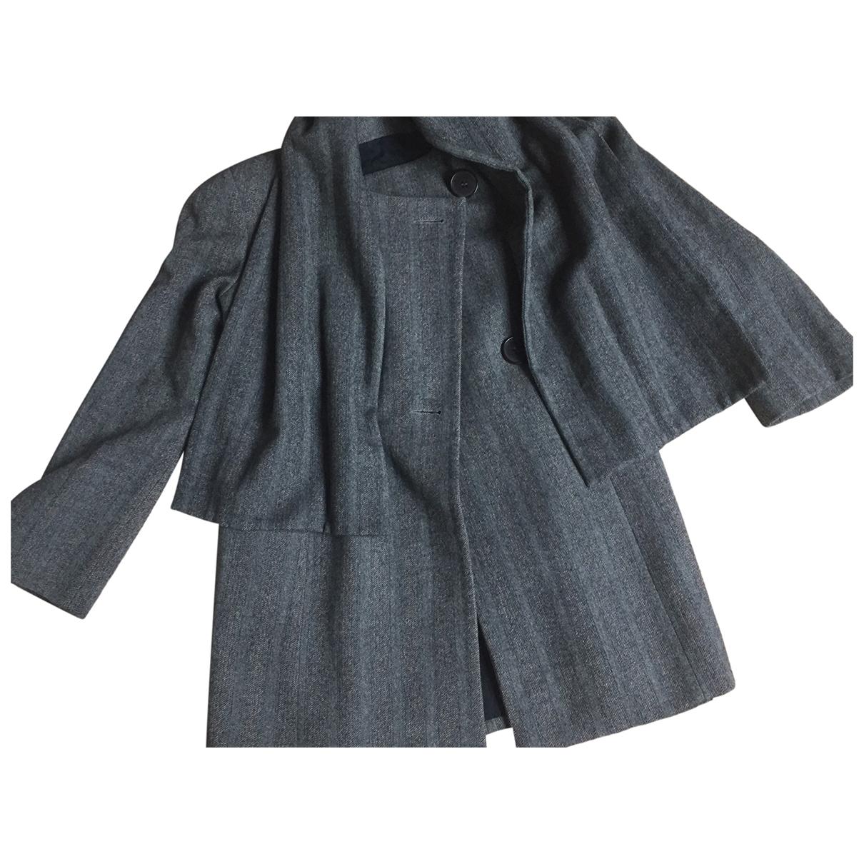 Isabel Marant \N Grey Wool coat for Women 2 0-5
