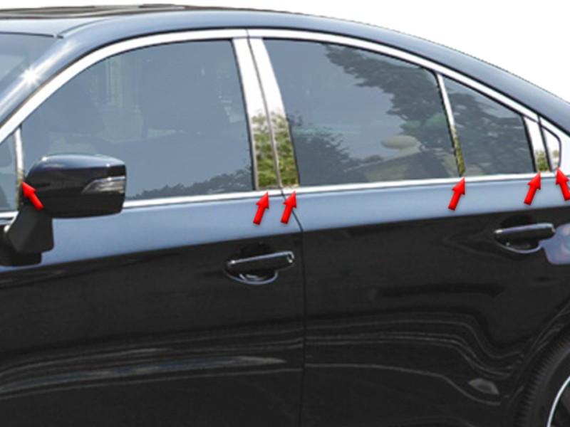 Quality Automotive Accessories Pillar Post Trim Subaru Legacy 15-18