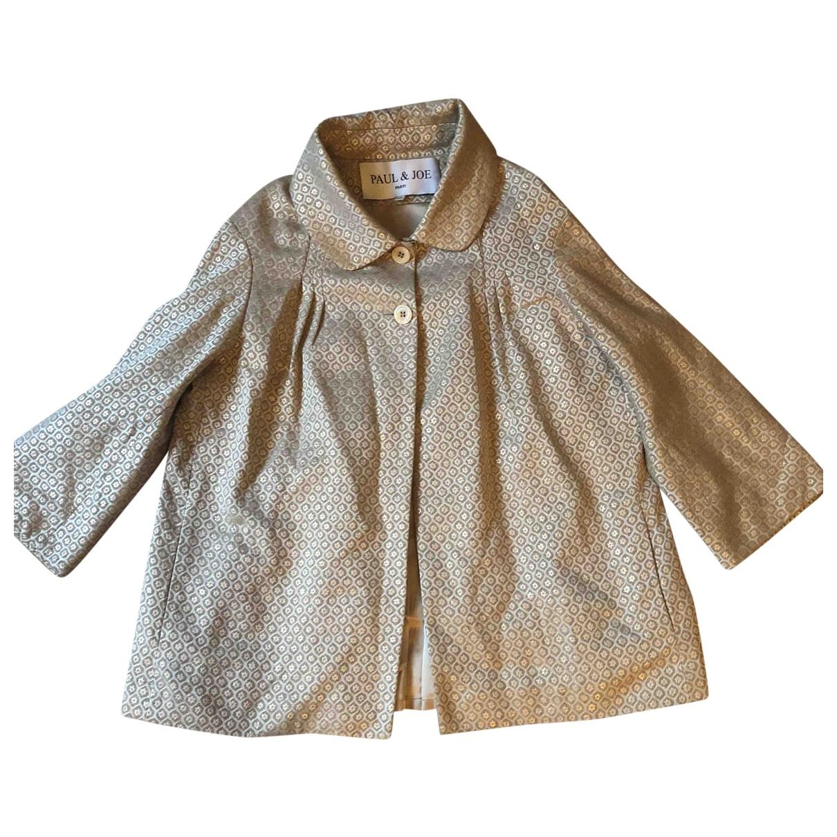 Paul & Joe \N Beige Cotton jacket for Women 36 FR