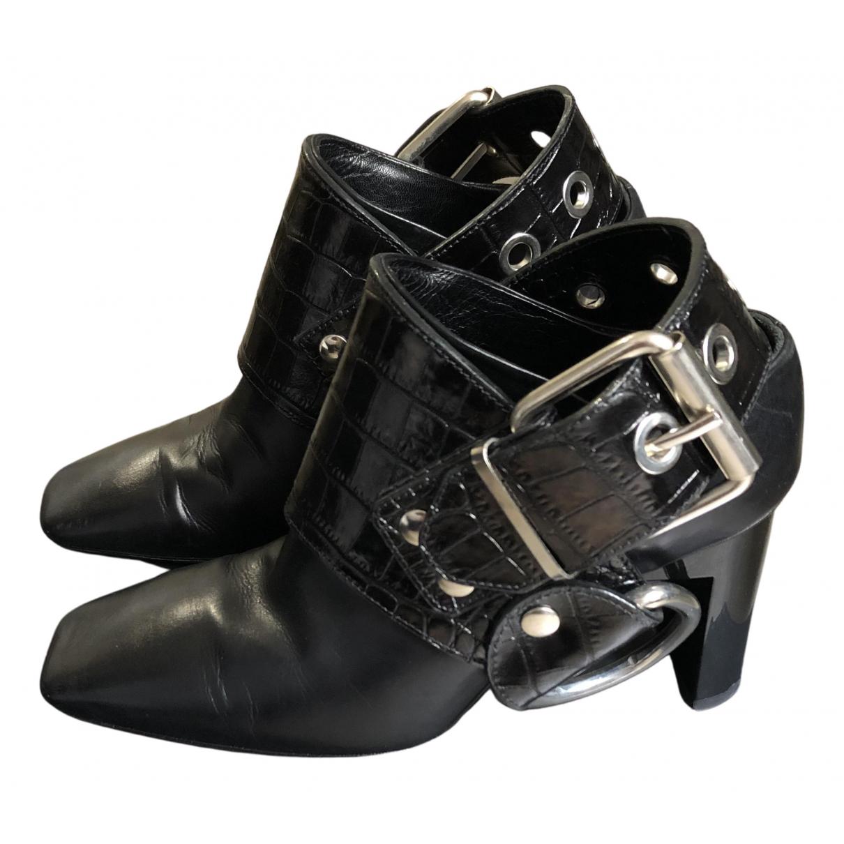 Alyx \N Pumps in  Schwarz Leder