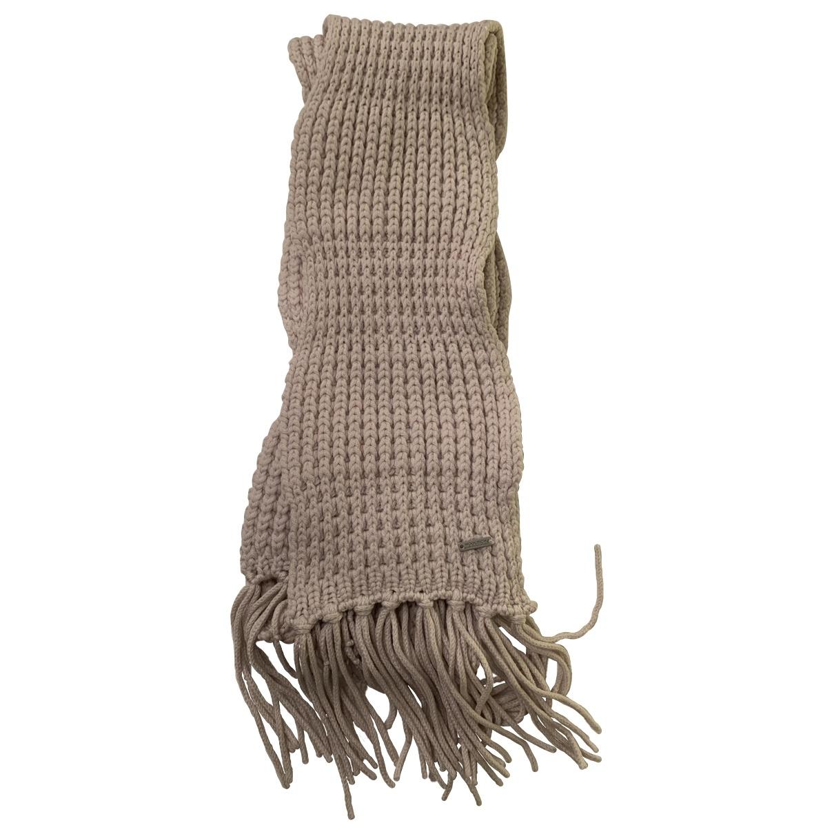 Woolrich - Foulard   pour femme en laine - blanc