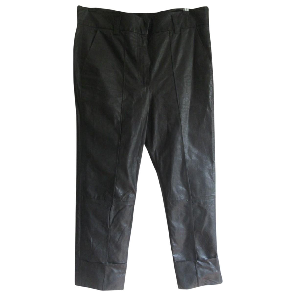 Pantalon de Cuero Haider Ackermann