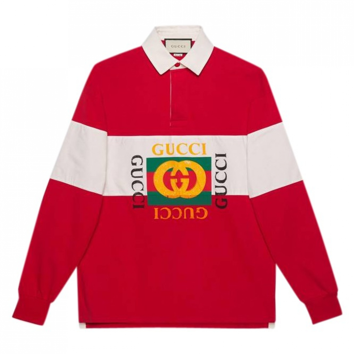 Gucci \N Red Cotton Polo shirts for Men M International