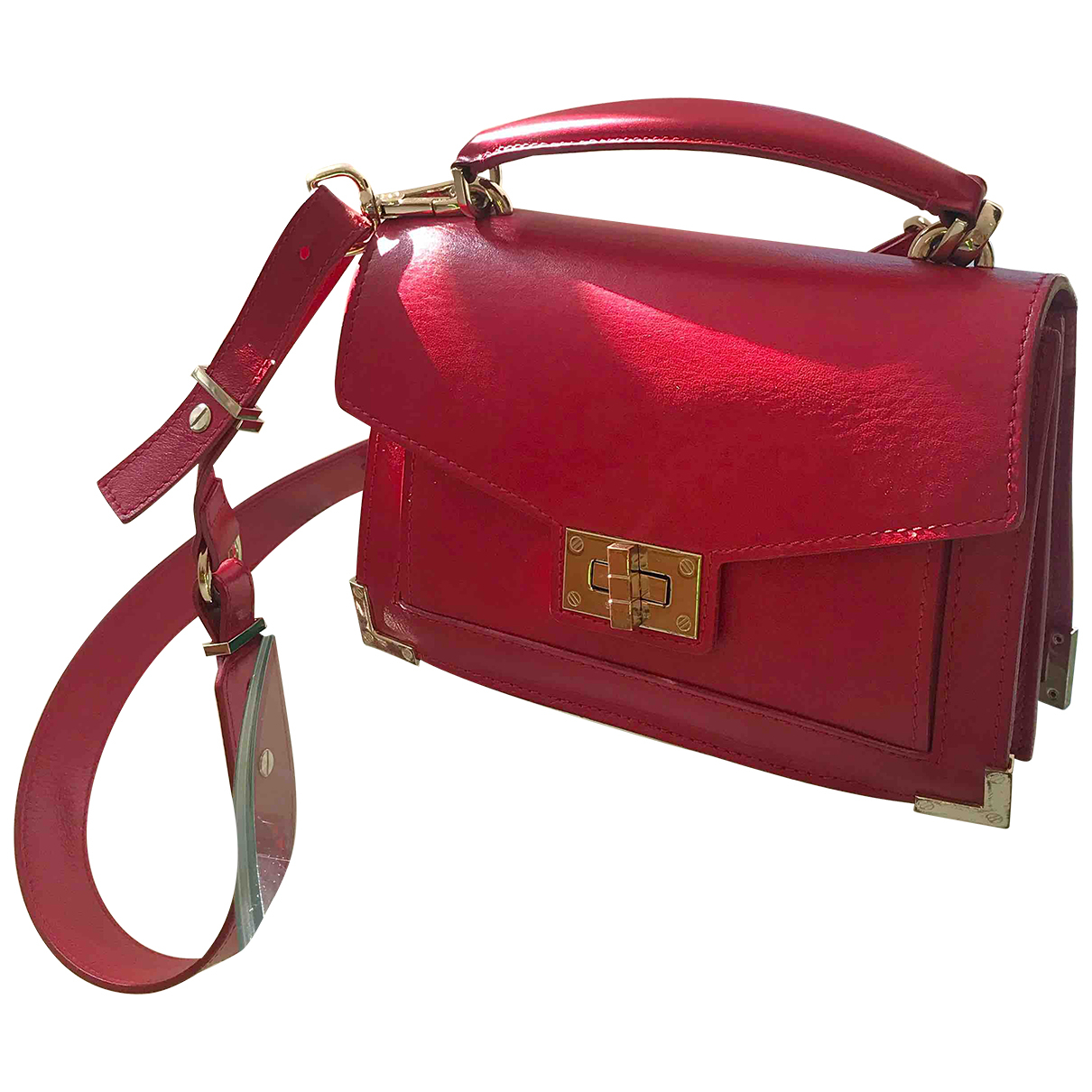 The Kooples Emily Red Leather handbag for Women N