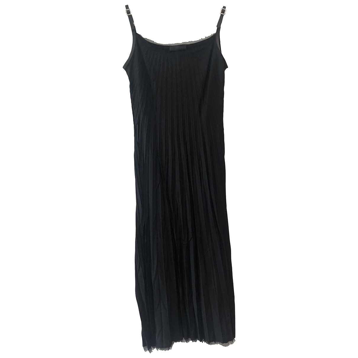 Ermanno Scervino \N Black dress for Women 36 FR