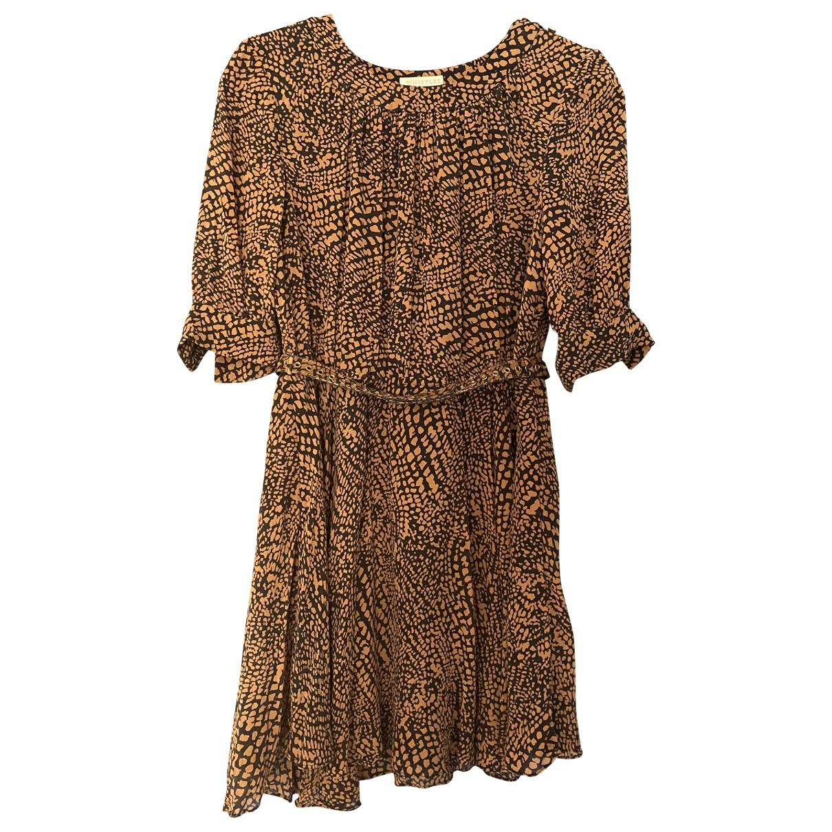 Whistles \N Brown Silk dress for Women 10 UK