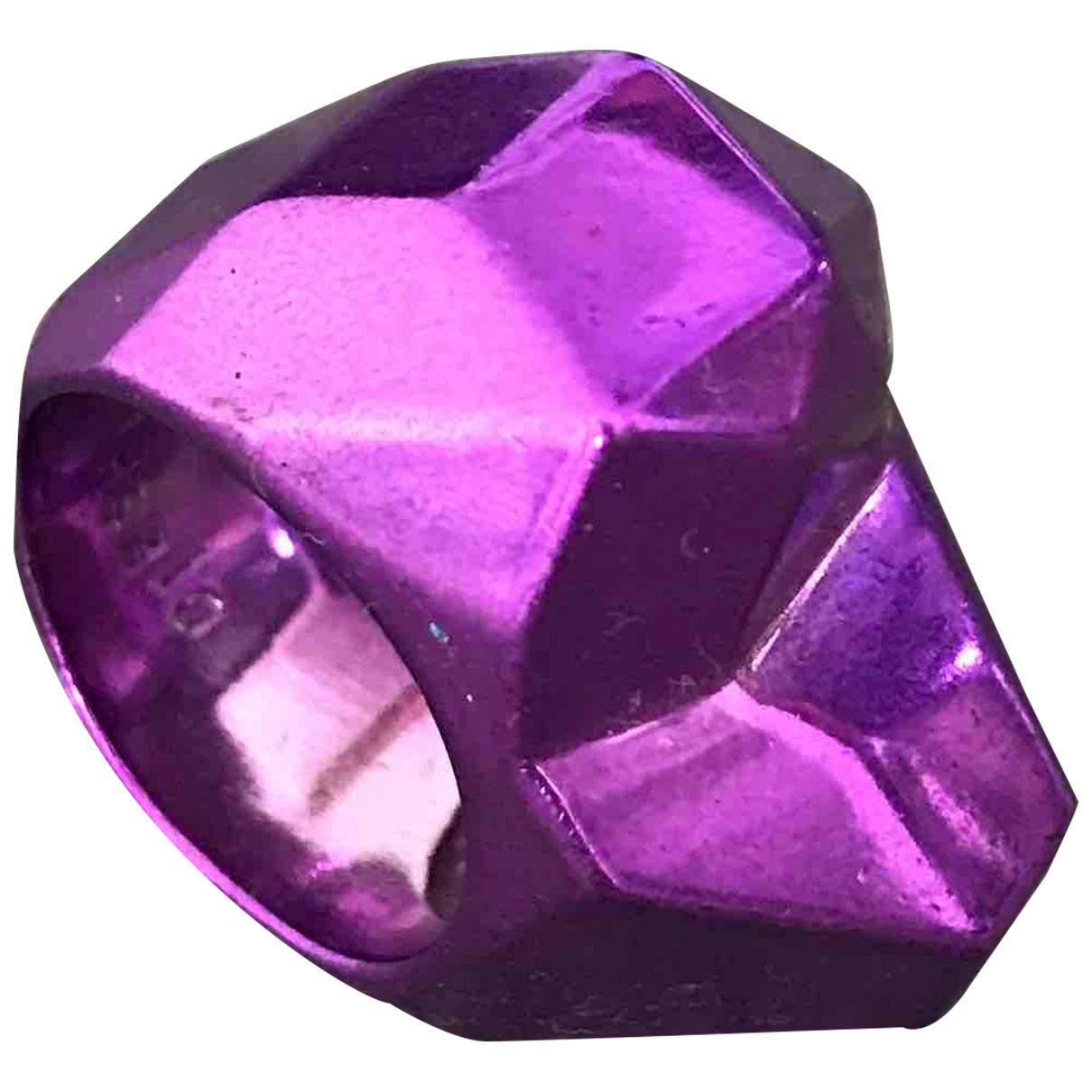Diesel - Bague   pour femme en metal - violet
