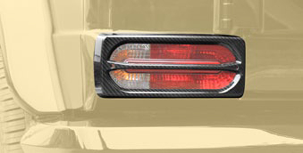 Mansory 66G 804 751 Glossy Tail Light Cover Mercedes-Benz G-Class W463 99-17