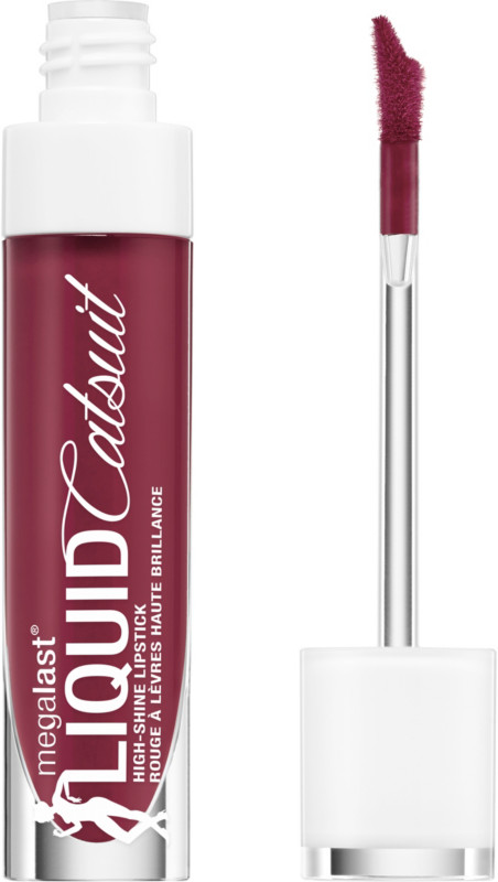 Megalast Liquid Catsuit High-Shine Lipstick - Wine Is The Answer
