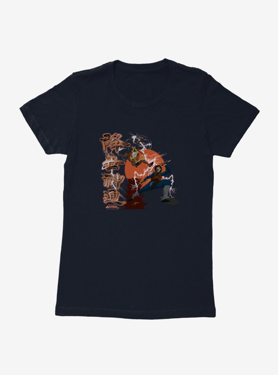 Avatar: The Last Airbender Battle Scene Womens T-Shirt