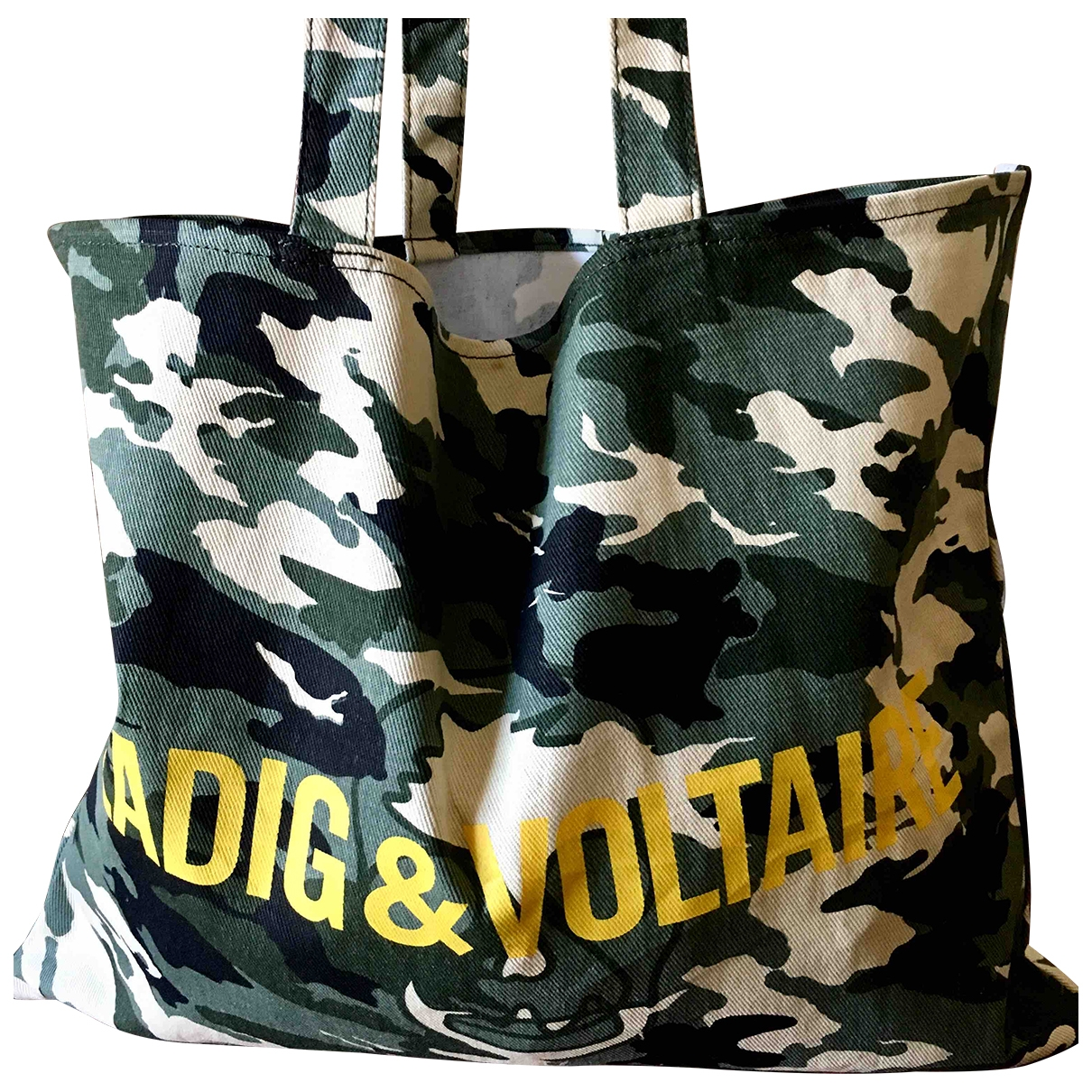 Zadig & Voltaire \N Handtasche in Baumwolle