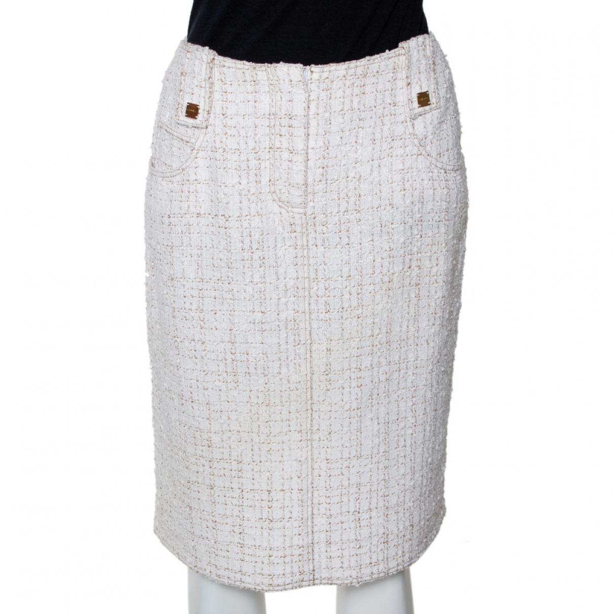 Chanel \N White Cotton skirt for Women M International