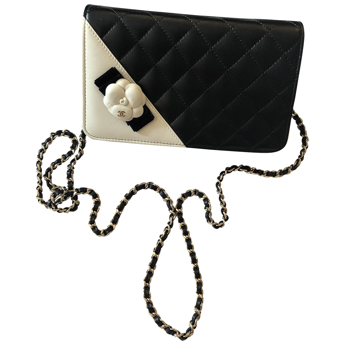 Bandolera Wallet on Chain de Cuero Chanel