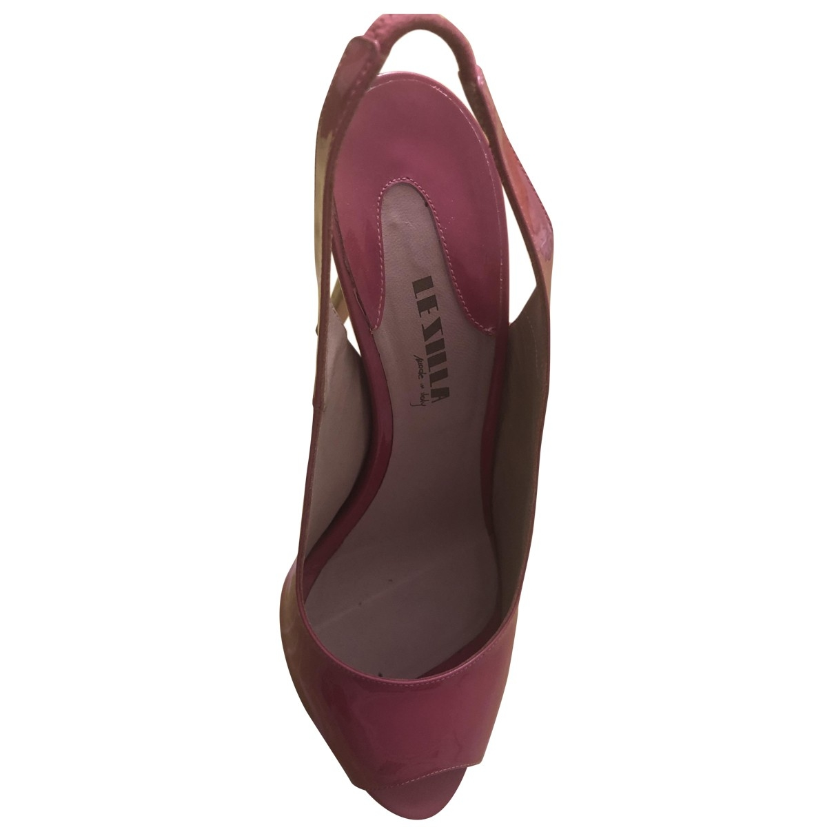 Le Silla \N Pink Leather Heels for Women 40 EU