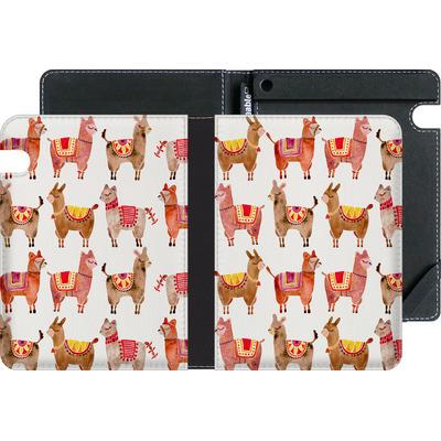 Amazon Kindle Voyage eBook Reader Huelle - Alpacas von Cat Coquillette
