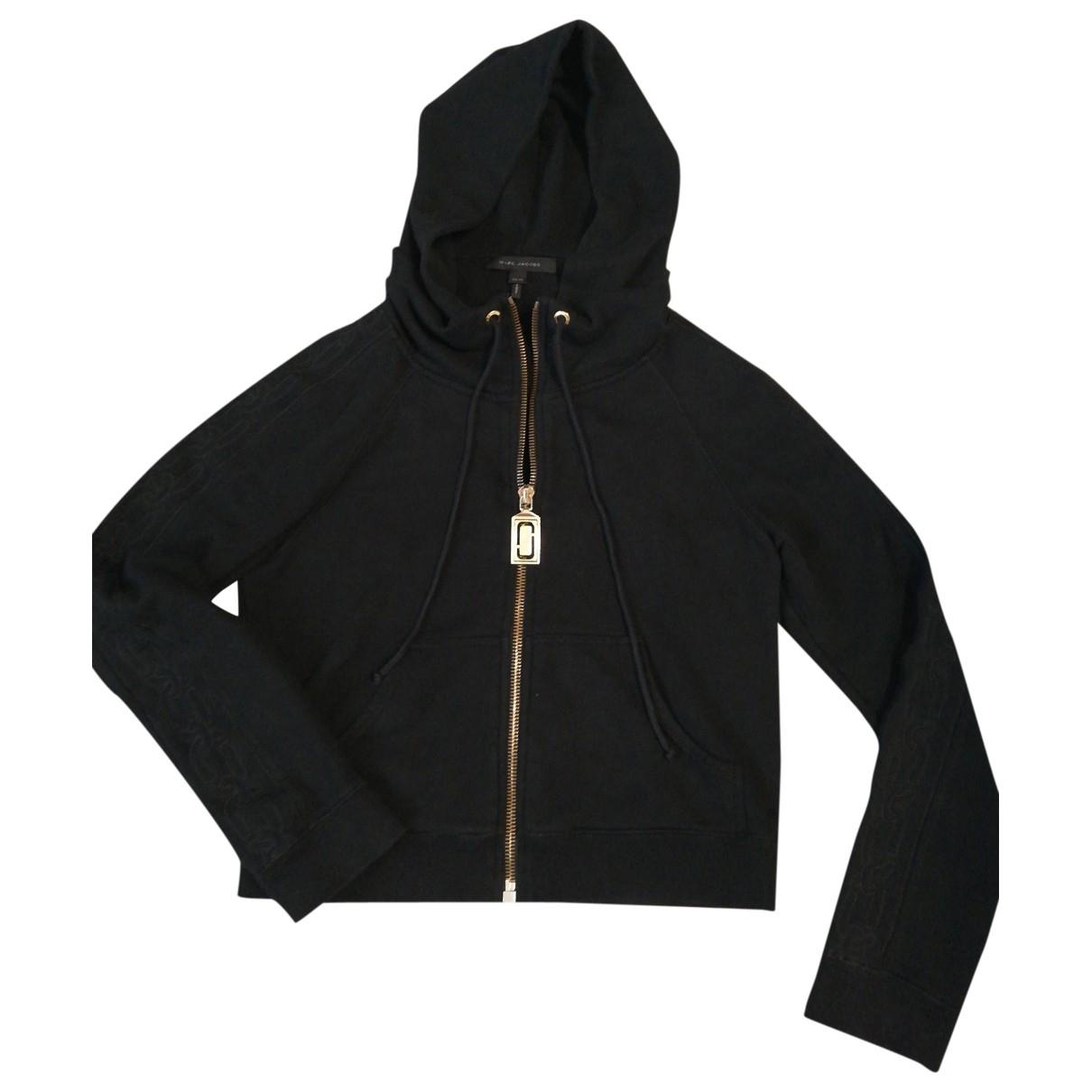 Marc Jacobs \N Pullover in  Schwarz Baumwolle