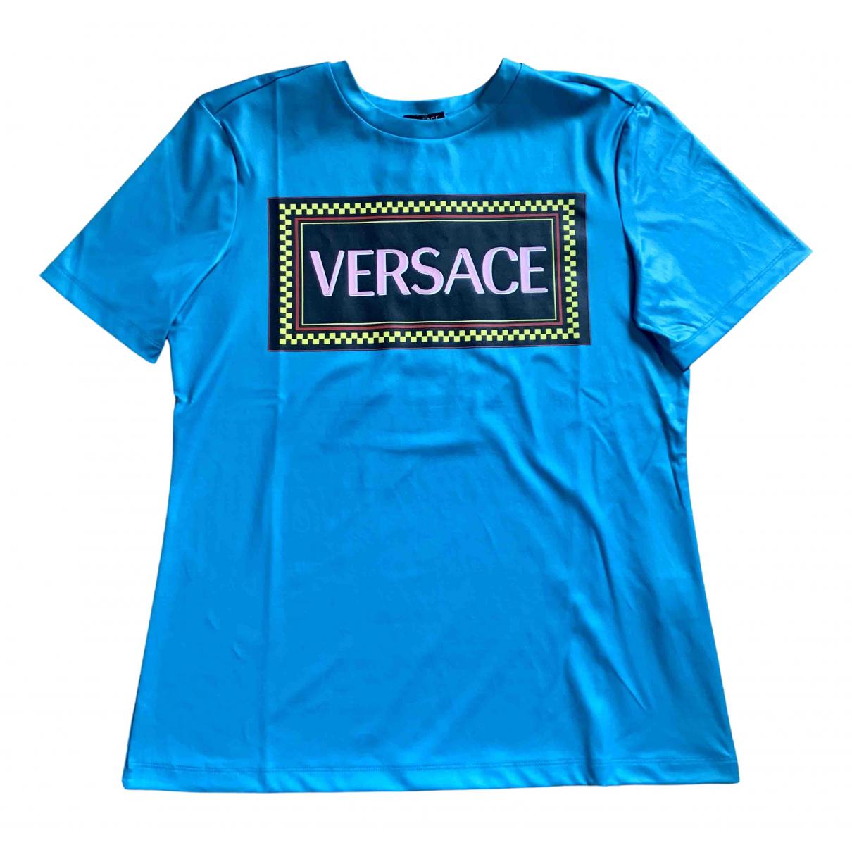 Versace - Top   pour femme - bleu