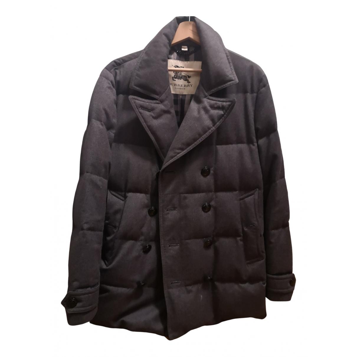 Burberry N Grey Wool jacket  for Men M International