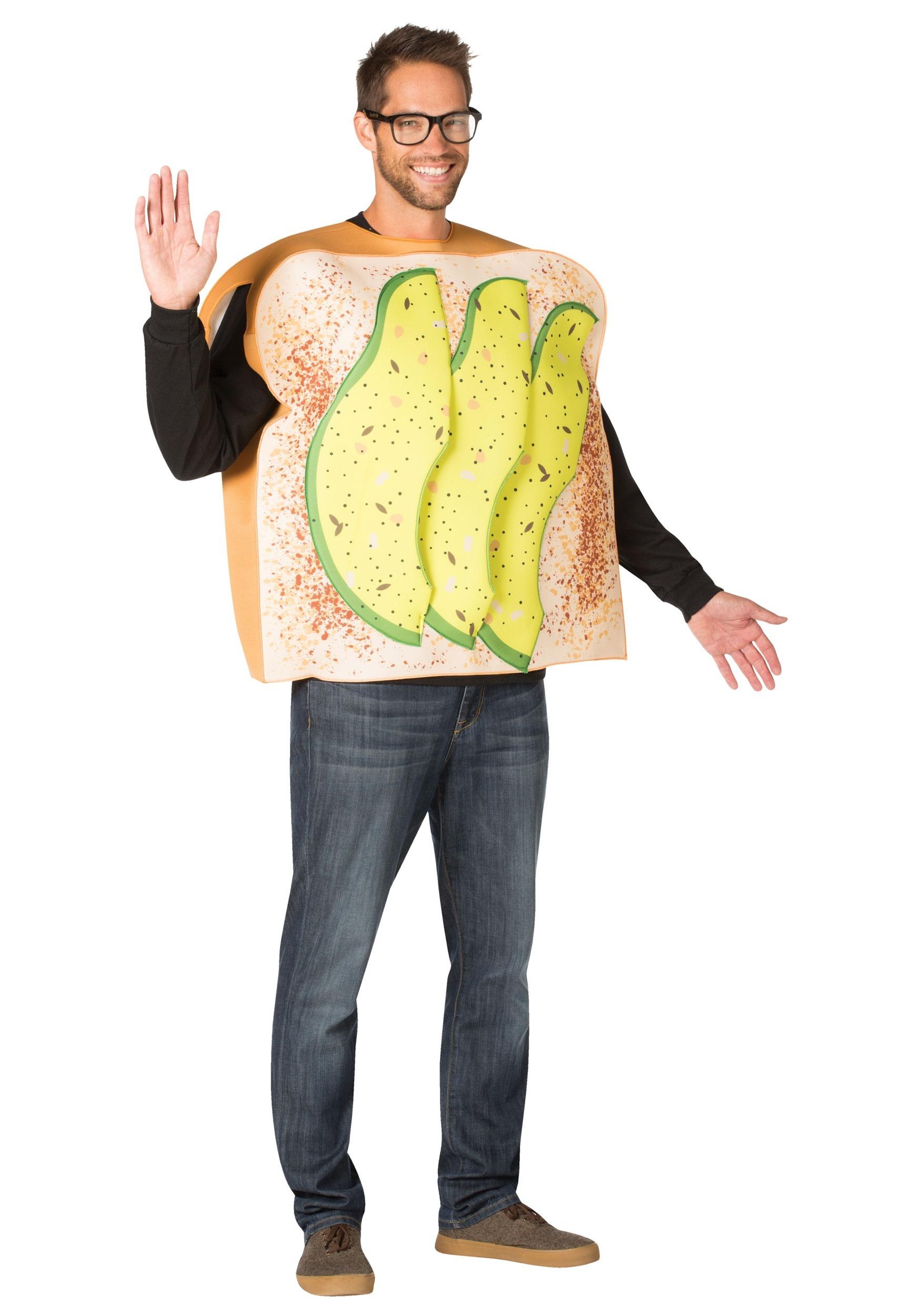 Avocado Toast Costume for Millennials