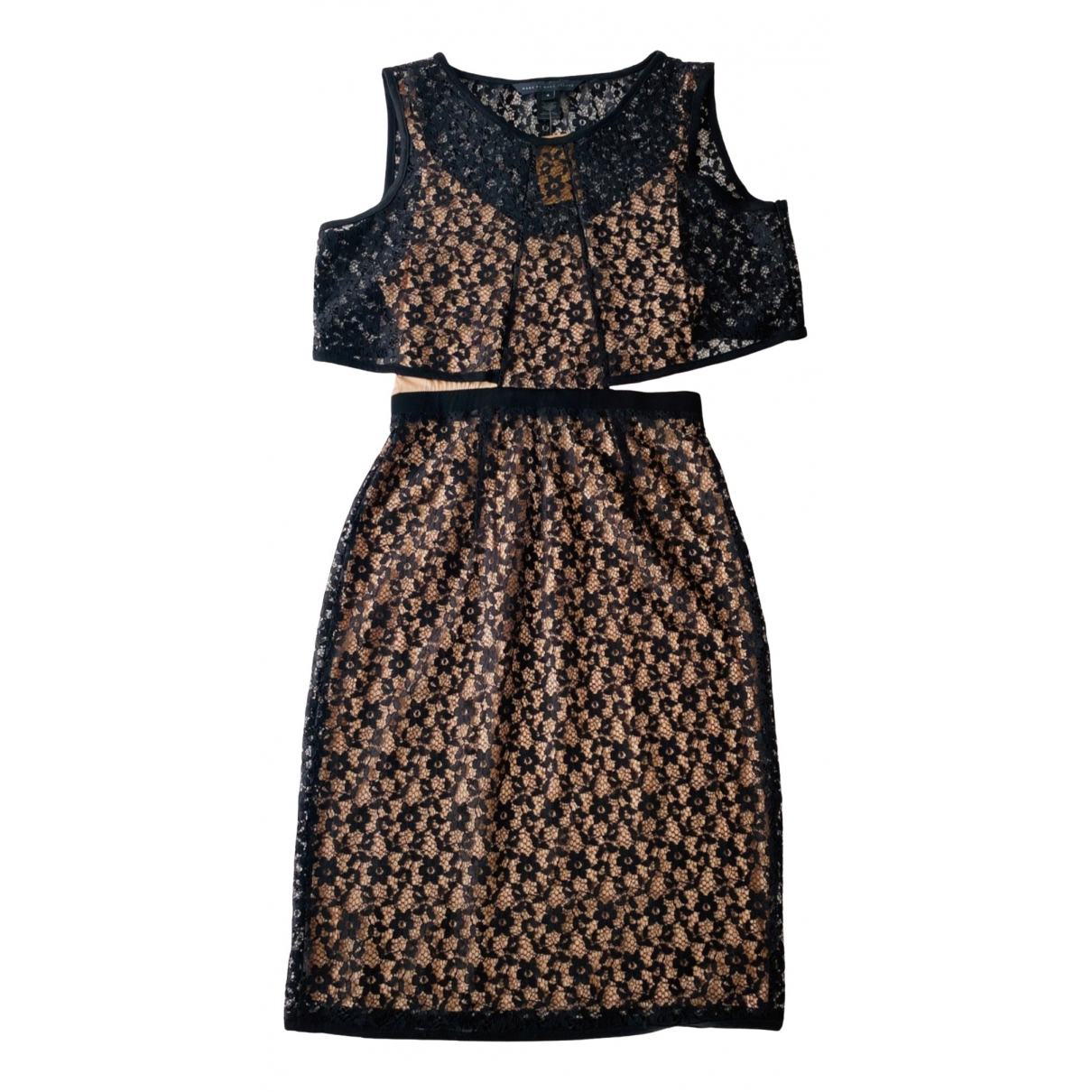 Marc By Marc Jacobs N Black Lace dress for Women 36 FR