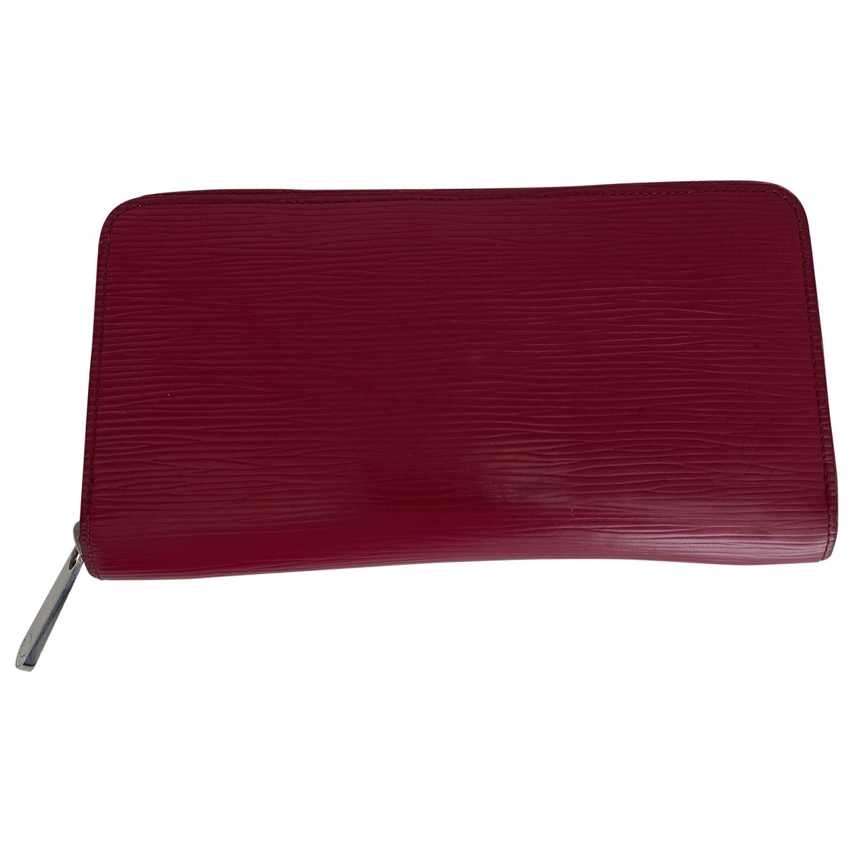 Louis Vuitton Zippy Burgundy Leather wallet for Women \N