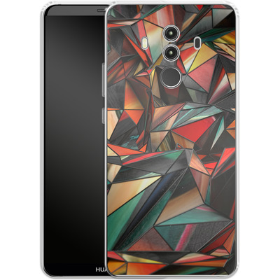 Huawei Mate 10 Pro Silikon Handyhuelle - Dirty Triangles von Danny Ivan