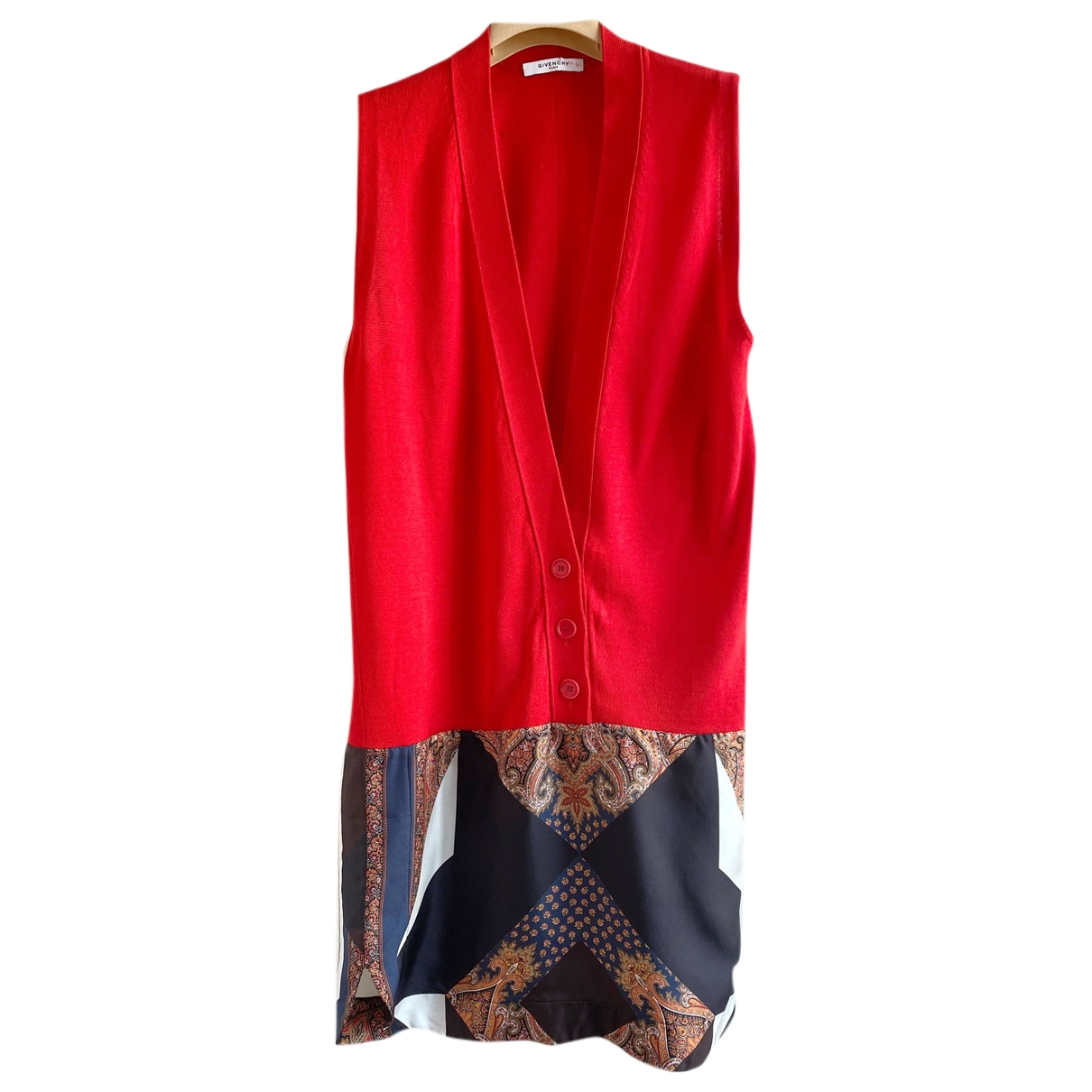 Givenchy \N Red Cotton dress for Women 36 FR