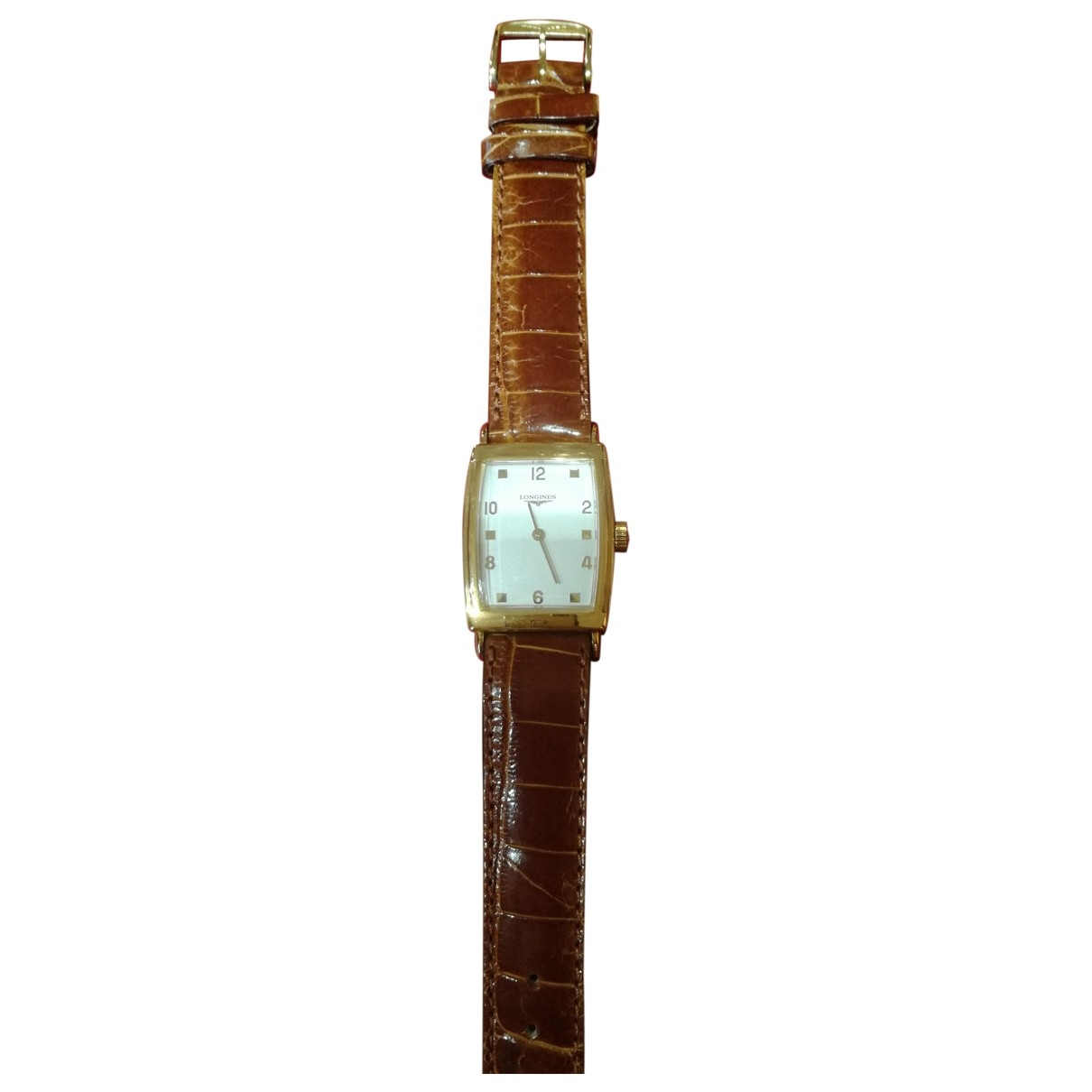 Longines \N White Yellow gold watch for Men \N