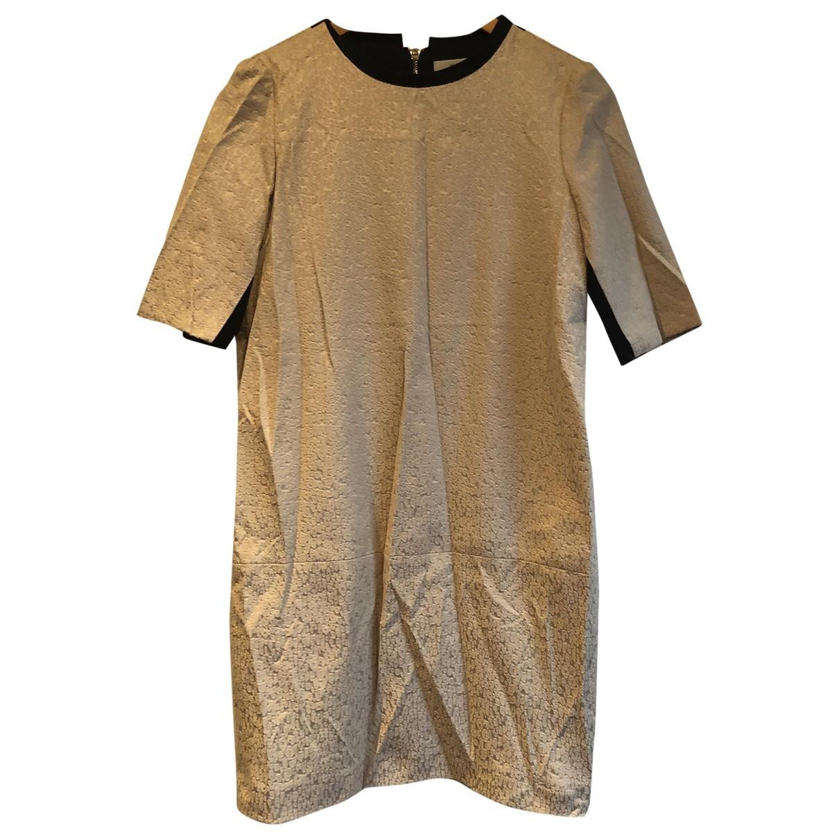 Marella - Robe   pour femme en coton - elasthane - gris