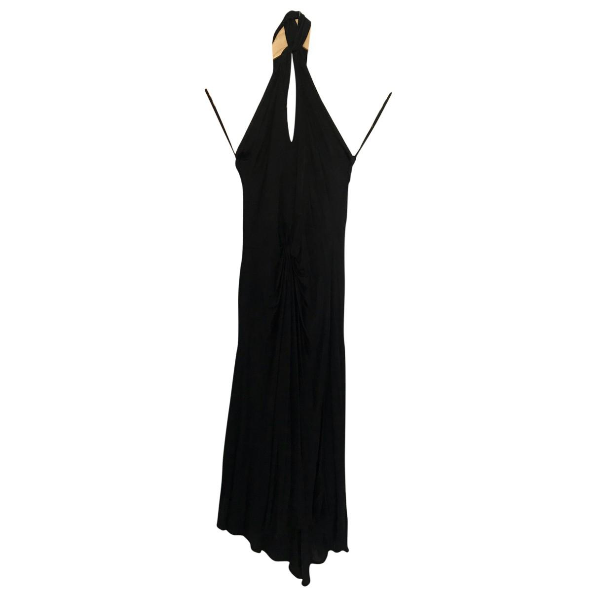 Versace Jeans \N Black dress for Women 42 IT