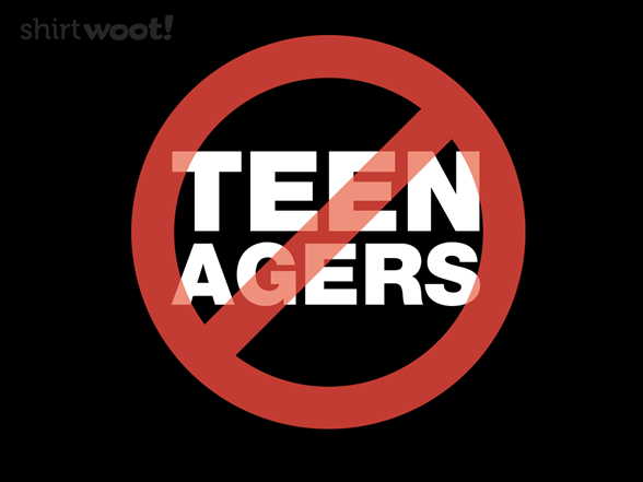 Teenagers T Shirt